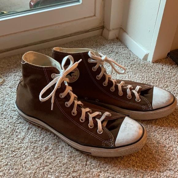 Hightop Brown Converse size M10 W12